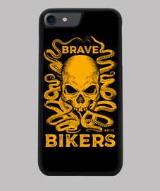 t-t-shirt nera octopus skull