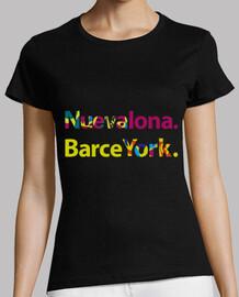 t-t-shirt nu eva canvas barceyork