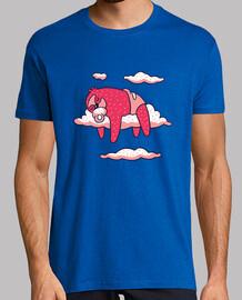 t-t-shirt Sloth bebè che dormire