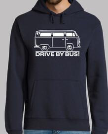 t1 transporter - nehmen sie den bus (weiß)