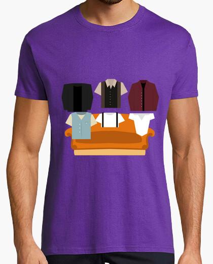 Tee-shirt t  homme  - amis: celui où elle all a commencé