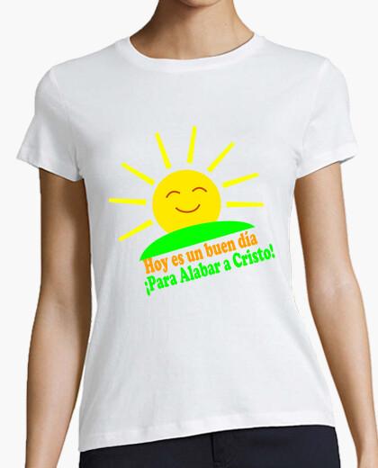 Tee-shirt t louer le christ