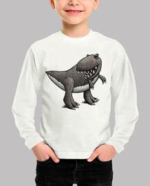t rex! kid t