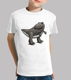 t rex! maglietta