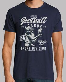t shirt american football vintage 1968