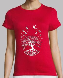 t shirt arbre vie femme sagesse harmonie FS