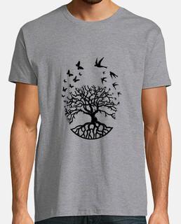 t shirt arbre vie homme sagesse harmonie FC