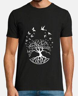 t shirt arbre vie sagesse harmonie FS