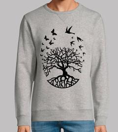 T shirt Baumleben Weishesie Harmonie fc