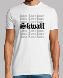 T shirt, blanc, Skwall