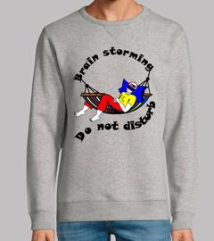 t shirt do not disturb brain storming