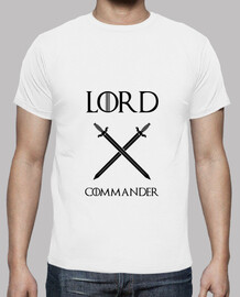 T shirt Game of Thrones: Lord Commander