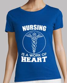 t shirt infirmière texte médecine