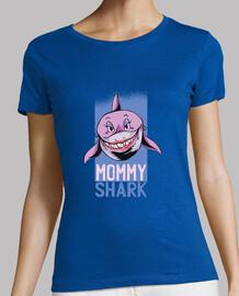t shirt mommy shark