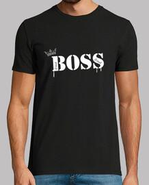 T shirt, noir spécial boss