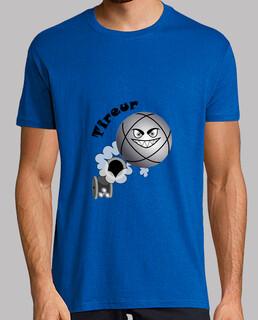 t shirt petanque shooter palla da bambino esiste in pointer n