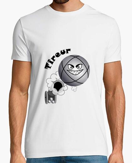 Tee-shirt t shirt pétanque tireur boule existe en pointeur
