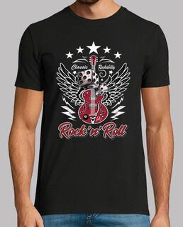 t shirt rockabilly 50s rockers vintage guitars