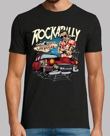 t shirt rockabilly vintage rocker hotrod