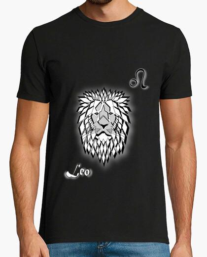 T-shirt t shirt segno zodiacale leone uomo astrologia
