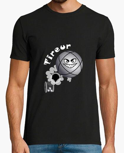 Tee-shirt t shirt tireur pétanque FS boule existe en pointeur