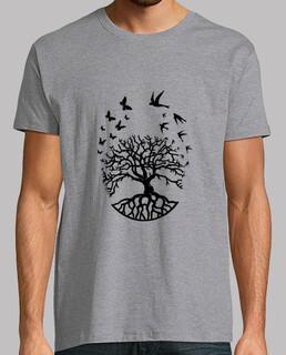 t shirt tree life man wisdom harmony fc