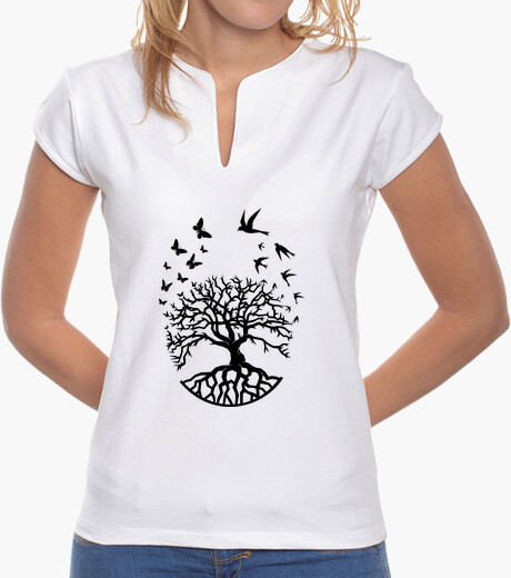 T shirt tree life woman mao wisdom harmony fc t-shirt