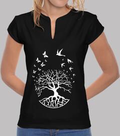 t shirt tree life woman mao wisdom harmony fs