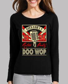 t shirt vintage doo wop music 1958 rockabilly retro usa rock and roll 1950s