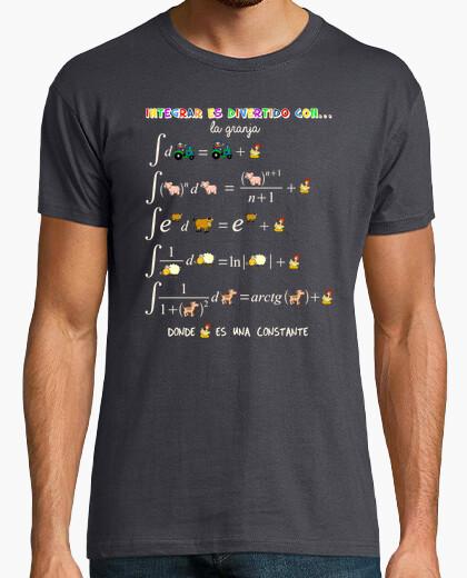 Camiseta Tabla de integrales (granja)