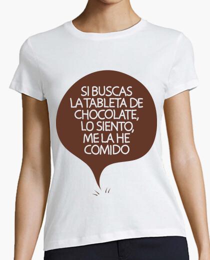 Camiseta Tableta Chocolate