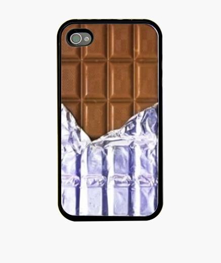 Funda iPhone Tableta de chocolate