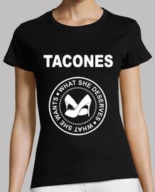 Tacones, logo Ramones
