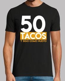 tacos de cadeau d'anniversaire 50e
