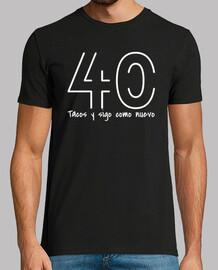 tacos pour le 40e anniversaire