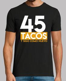 tacos regalo per il 45 ° compleanno