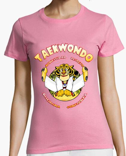Camiseta taekwondo kid