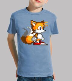 Tails 16bit (Camiseta Niño)