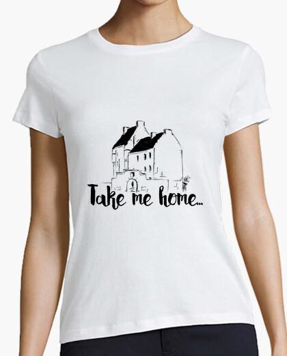 Camiseta Take me home - Negro