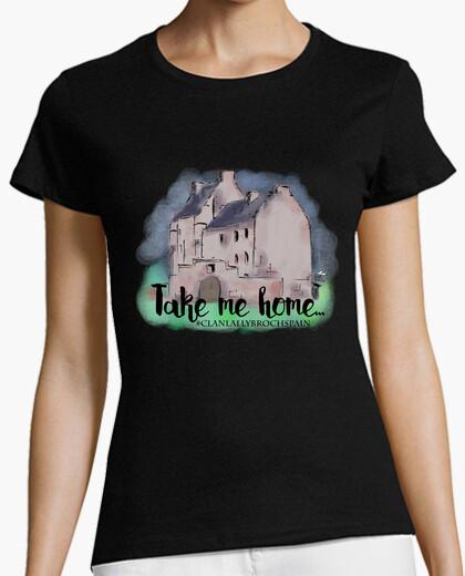 Camiseta Take me home Clan Lallybroch
