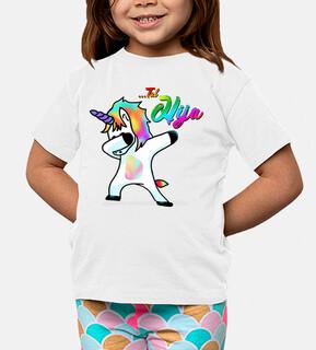 Tal Hija - Niño, manga corta, blanco