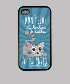 talk to your cat - case iphone 4 / 4s black