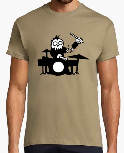 Camiseta tambor zombi
