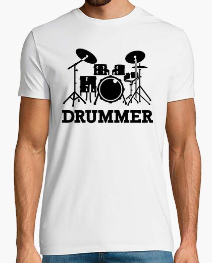 Camiseta tambores baterista