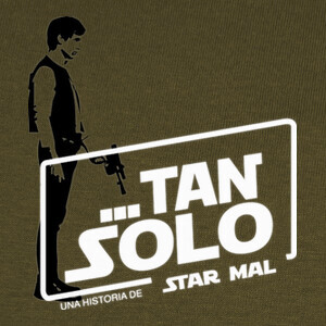 Camisetas Tan solo star wars