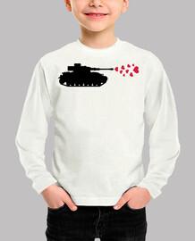 Tank hearts peace