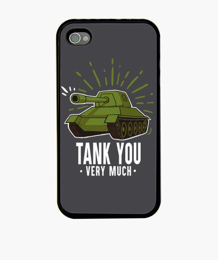 Funda iPhone Tank you case
