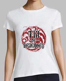 tante des dragons blanc