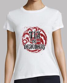tante dragon blanc