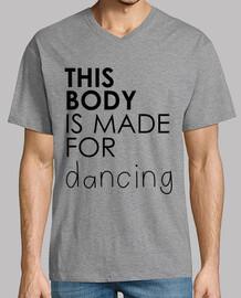 tanzen männer v-ausschnitt